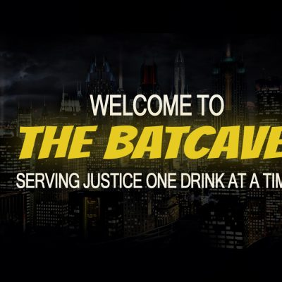 Batcave Drinks Welcome - Heather B